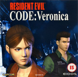 RESIDENT EVIL CODE: VERONICA (PAL-E)(CDI)(SELFBOOT) Sega-dreamcast-resident-evil-code-veronica