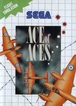 Buy sega master system ace of aces for sale at console passion - Sega master system console for sale ...