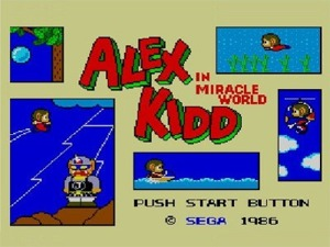 Alex Kidd in Modified 50Hz Display