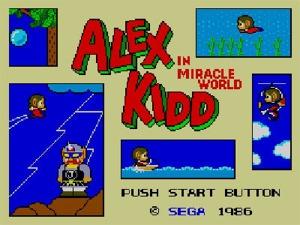 Alex Kidd in Modified 60Hz Display