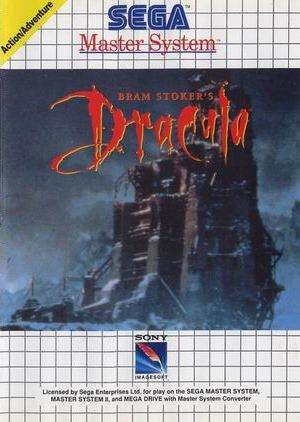 Buy sega master system bram stokers dracula for sale at console passion - Sega master system console for sale ...