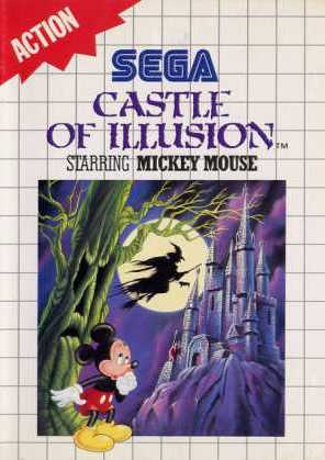 Sega Master System - Castle of Illusion Starring Mickey Mouse