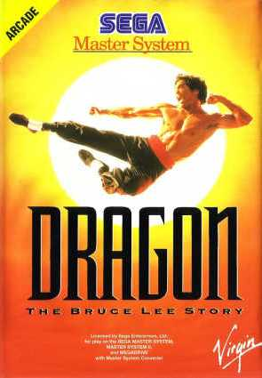 Buy sega master system dragon the bruce lee story for sale at console passion - Sega master system console for sale ...