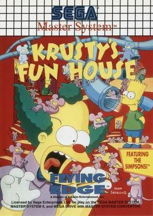 Buy Sega Master System Krustys Fun House For Sale At