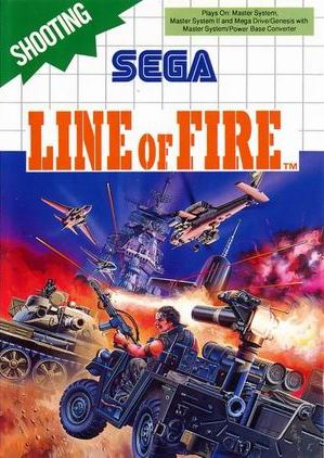 Buy Sega Master System Line of Fire 3D For Sale at Console