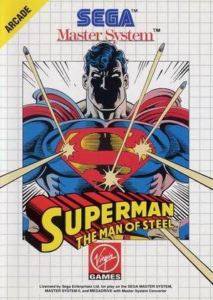 Buy sega master system superman for sale at console passion - Sega master system console for sale ...