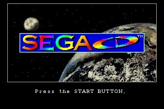 Sega Mega-CD with US BIOS