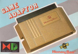 RECHERCHE ADAPTATEUR SNES et NES Sega-megadrive-honey-bee-import-adapter-boxed