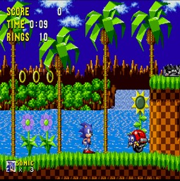 Sonic in Modified 60Hz Display