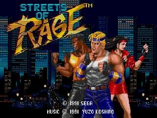 Streets of Rage English Language